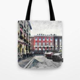 Cracow art 4 Kazimierz #cracow #krakow #city Tote Bag