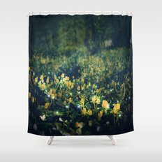 The Magic and the Moonlight Shower Curtain
