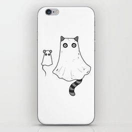 Cat Ghost & Mouse Ghost – Nightmare iPhone Skin