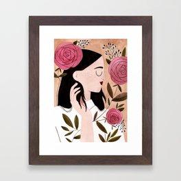 Meg Framed Art Print