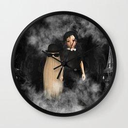 Halloween Family Wall Clock