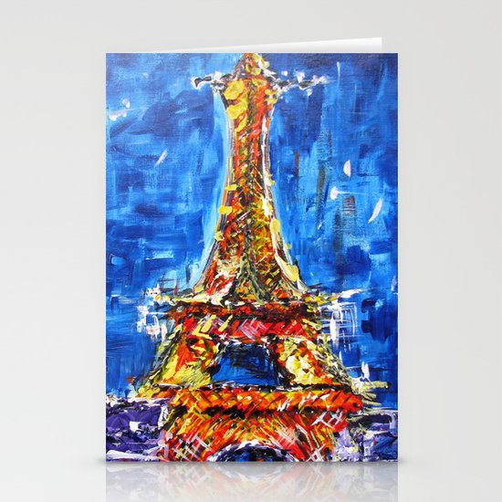 J'adore Eiffel Stationery Cards
