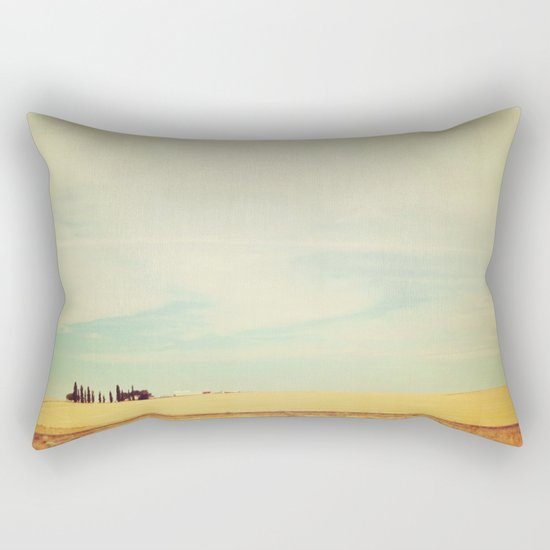 Farm Polaroid Rectangular Pillow