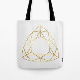 Golden diamond IV Tote Bag