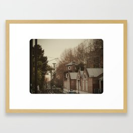 Turnaround. Framed Art Print