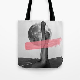 Line and curve Tote Bag