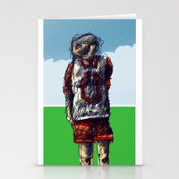 football Stationery Cards featuring football by jenapaul