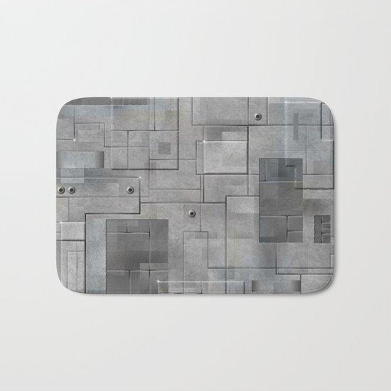 Industrial Tiles Bath Mat