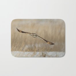 I am coming - Short Eared Owl Bath Mat