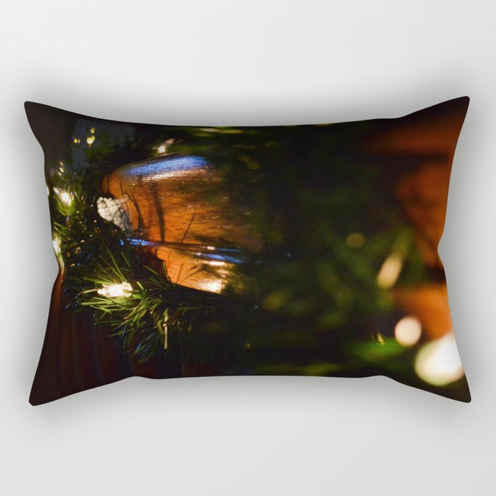 Christmas Lights Rectangular Pillow