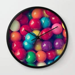 Gumball Fun Wall Clock