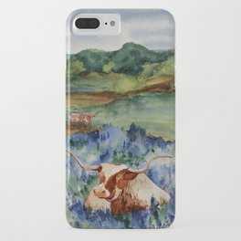 Just the Longhorns, Hanging Out iPhone Case