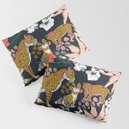 Animal print dark jungle Pillow Sham