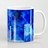 discount Mugs featuring Sapphire Nebulæ by Aaron Carberry