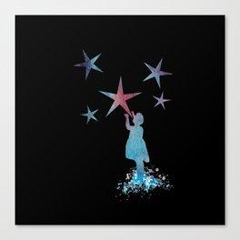 Stars art Canvas Print