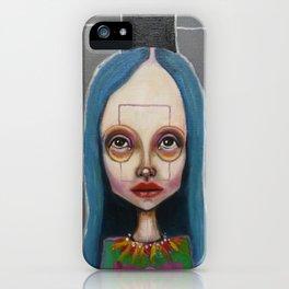 black crown iPhone Case