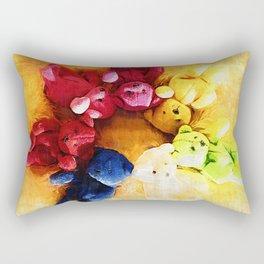 Colorful bears Rectangular Pillow