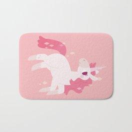 Pretty Pink Unicorn Bath Mat