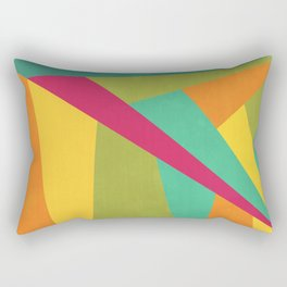 Flashing Lights Rectangular Pillow