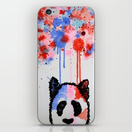 Rogue Panda -I Thought Painting iPhone Skin