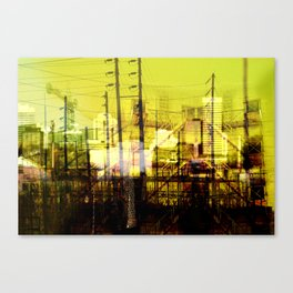 Filaire Canvas Print