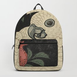 Cockatoo and Pomegranate 柘榴に鸚鵡 Backpack