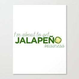 Jalapeño Business Canvas Print