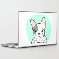 frenchie Laptop & iPad Skins featuring Frenchie by Pati Designs & Photography