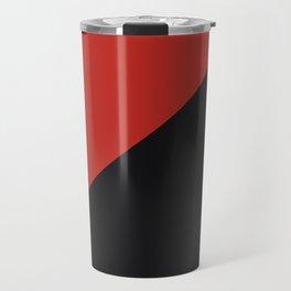anarchy flag symbol Travel Mug