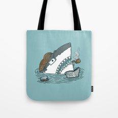 The Dad Shark Tote Bag