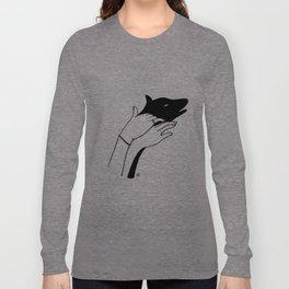 Dog shadow Long Sleeve T-shirt