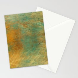 Copper and Turquoise Stationery Cards