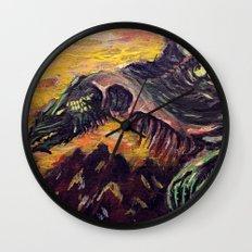 Blight Dragon Wall Clock