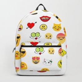Emoji Collage 11 Backpack