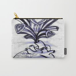 My Heart Overflows Carry-All Pouch