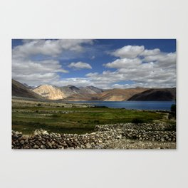 Lakeside Pangong Canvas Print