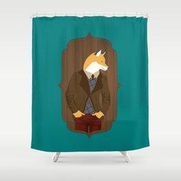 Mr Fox is stylish Shower Curtain