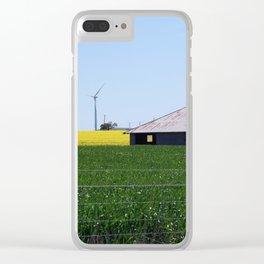 Waubra Wind Farm Victoria Clear iPhone Case