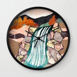 Autumn Falls Wall Clock