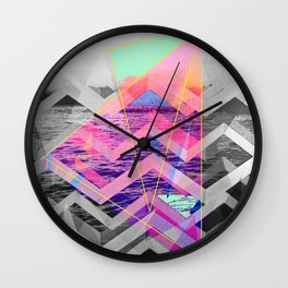 Keep Your Head Up Wall Clock