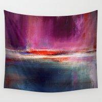 romance Wall Tapestries featuring Romance by Liz Moran
