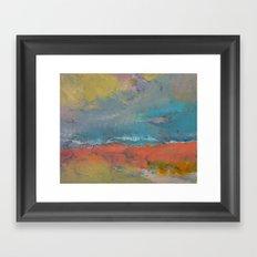 Misty Framed Art Print