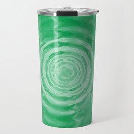 Ripples_Green Travel Mug