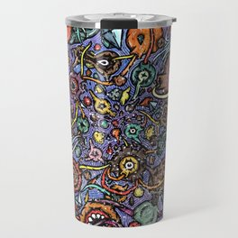 Colourful Ocean Big Bang Travel Mug