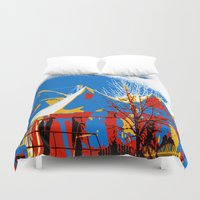circus Duvet Covers featuring Circus by LoRo  Art & Pictures