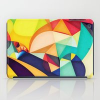 poetry iPad Cases featuring Poetry Geometry by Anai Greog