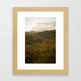 between Inverness and Glasgow Framed Art Print