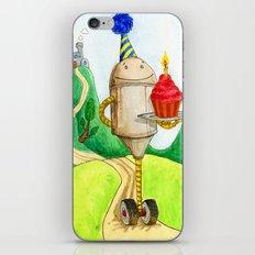 Birthday Robot 1: Cupcake iPhone & iPod Skin