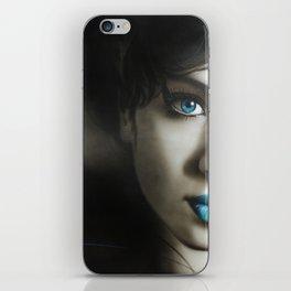 'Amy 'n' Blues' iPhone Skin