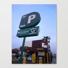 Parking Space Canvas Print
